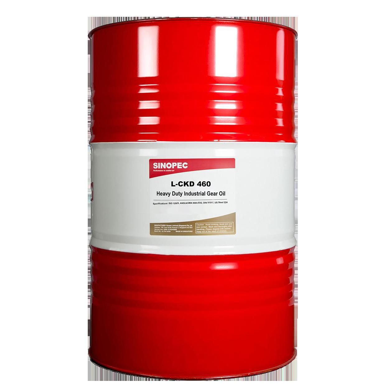 Sinopec L-CKD Heavy Duty Industrial Gear Oil